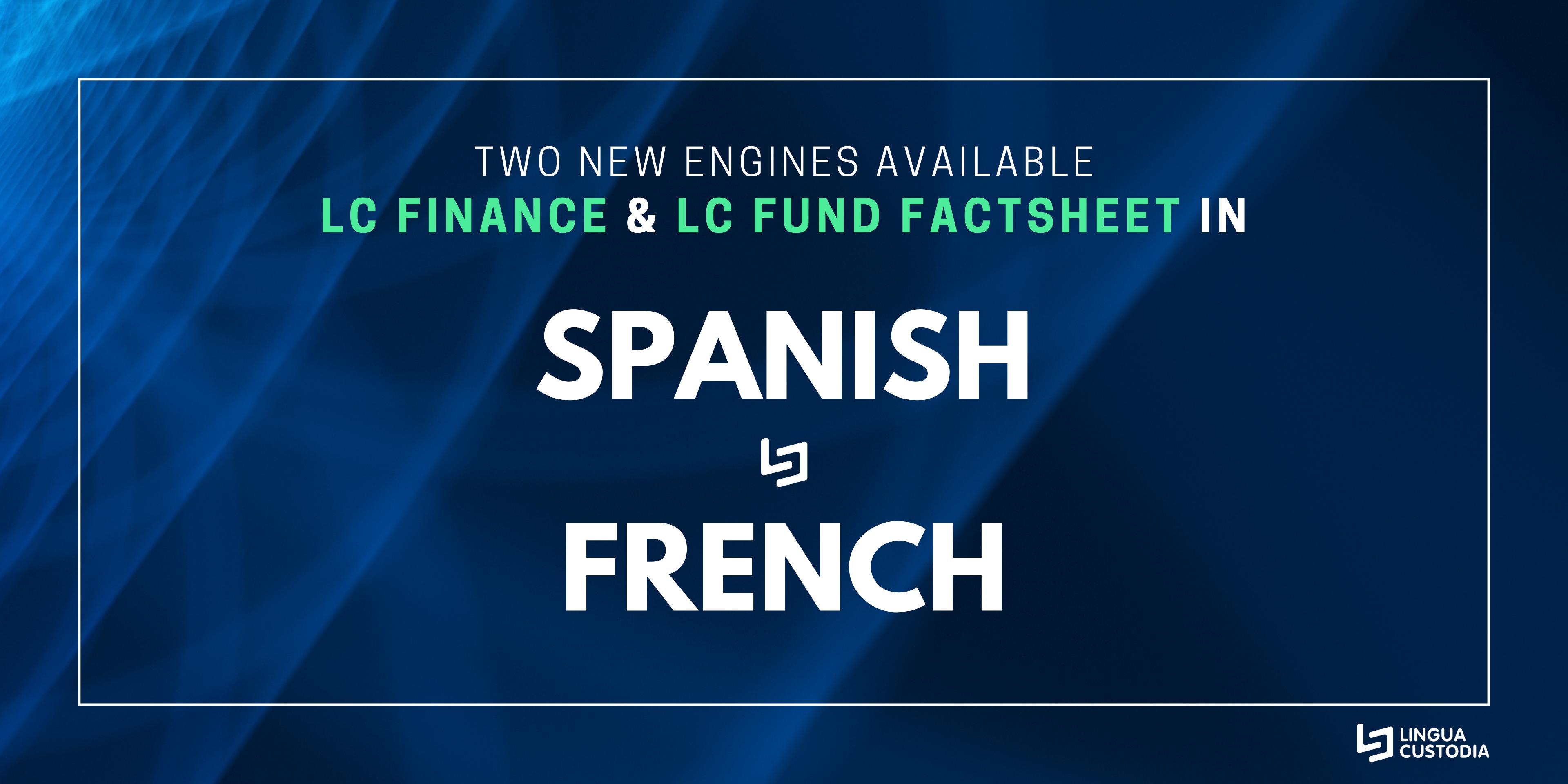 new translation engines